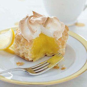 Lemon-Meringue-Nests