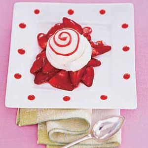 Sorbet-with-Strawberry-Sauce-Recipe