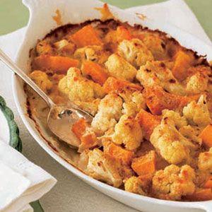 Cauliflower-Squash-Gratin-Recipe