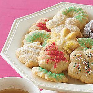 Hazelnut-Spritz-Cookies