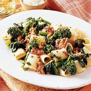 Pasta-with-Broccoli-Rabe-Sausage