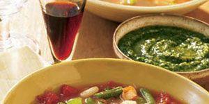 Chicken Minestrone With Pesto Chicken Recipes