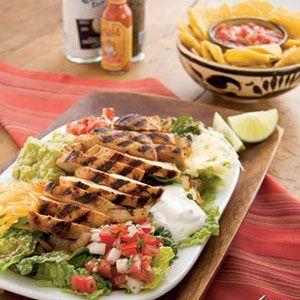 Sizzling Chicken Fajita Salad