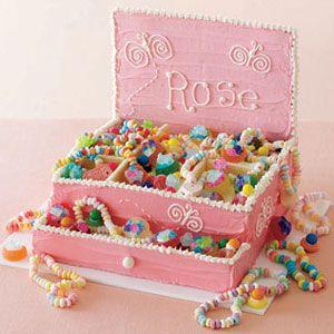 Princess Jewelry Box Cake for Kids Birthday Recipe