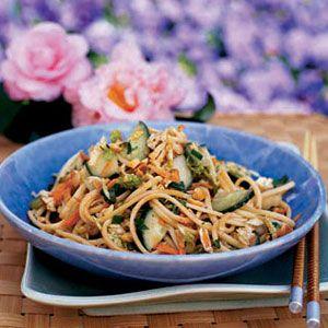 Cold Peanut-Noodle Salad
