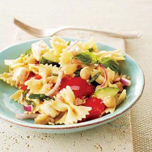 Bow-Tie Salad with Tuna