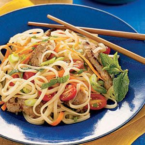 Spicy-Thai-Noodles-with-Pork-and-Mint