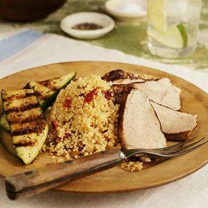 Pork-Tenderloin-with-Couscous-and-Zucchini