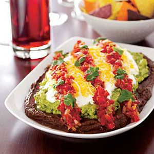 Southwestern-Layered-Dip-with-Chips-Recipe