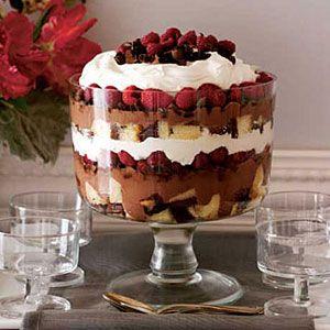 trifle recipe Chocolate-Raspberry-Trifle