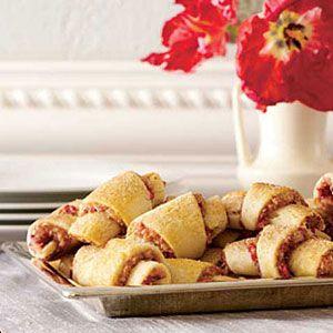 Almond-Cranberry-Rugelach