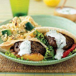 Mediterranean-Burgers-with-Zucchini-Couscous-Recipe