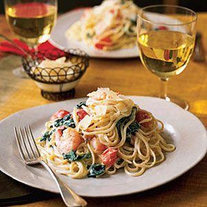 Shrimp-Linguine-Alfredo