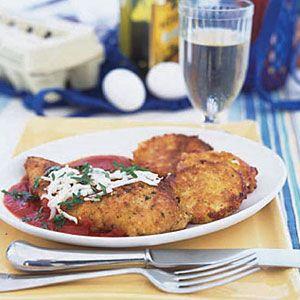 Skillet-Chicken-Parmesan-with-Crisp-Polenta