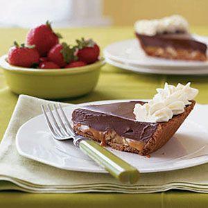 No-Bake-Chocolate-Truffle-Pie