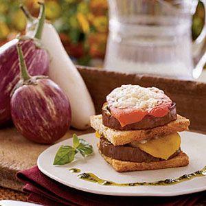 Eggplant-Pepper-Napoleons-Recipe