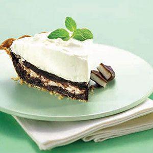 Mint-Fudge-Pie