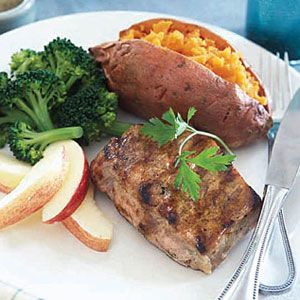 Pork-with-Sweet-Potatoes-Broccoli