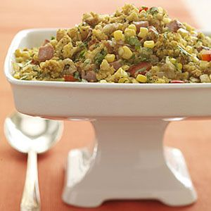 Cornbread-Ham-Stuffing-Recipe