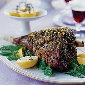 Roast-Leg-of-Lamb-with-Lemon-Thyme-Sauce