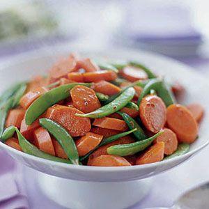Glazed-Carrots-with-Sugar-Snap-Peas-Recipe