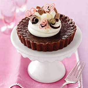 Chocolate-Custard-Tarts