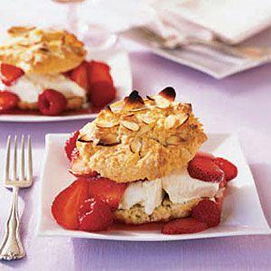 Strawberry-Raspberry-Shortcakes