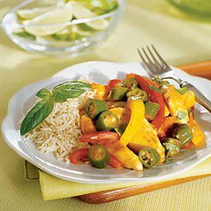Tandoori-Chicken-Stir-Fry-with-Basmati-Rice