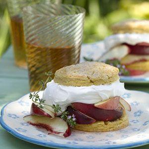 Peaches-Cream-Shortcakes