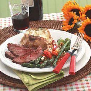 Steak-Asparagus-Potato-Dinner