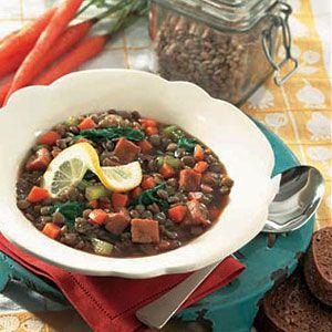 Ham-Lentil-Stew