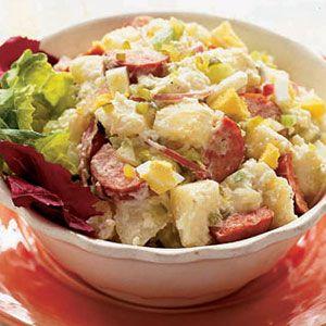 Potato-Salad-with-Kielbasa-Recipe