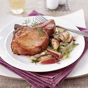 Smoked-Pork-Chops-with-Cabbage-Apples