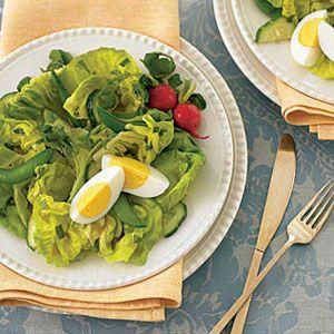 Tarragon-Green-Salad-with-Mustard-Dressing