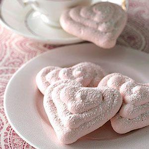 Raspberry-Meringue-Hearts