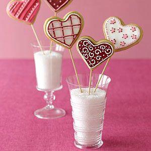 Valentine Cookie Bouquets