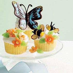 Morphos-Butterflies-Cupcakes
