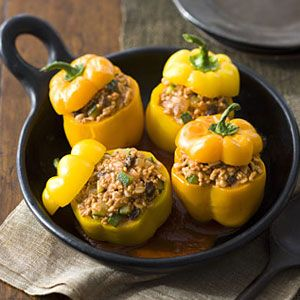 Picadillo-Stuffed-Peppers