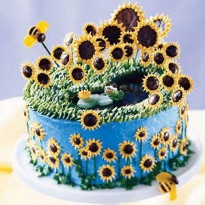 Sunflower-Pond-Cake