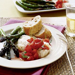 Cod-and-Asparagus-with-Tomato-Vinaigrette