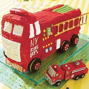 Fire-Truck-Cake