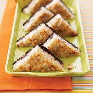 Chocolate-Almond-Triangles