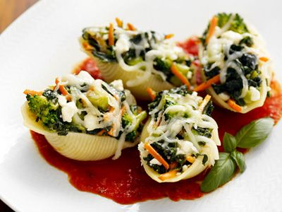 veggie stuffed shells