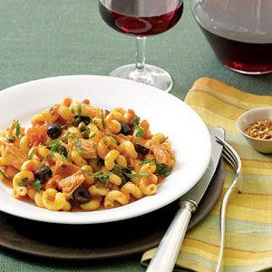 Pasta-Puttanesca-and-Tuna