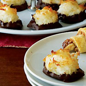 Dark-Chocolate-Dipped-Macaroons