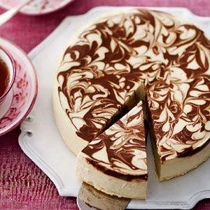 Mocha-Marble-Swirl-Cheesecake