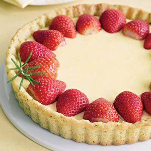 Lemon-Tart-with-Strawberries-Recipe