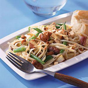 Linguine-with-Garlic-Tuna-Recipe