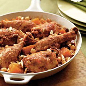 Skillet-Chicken-Chickpeas-Recipe