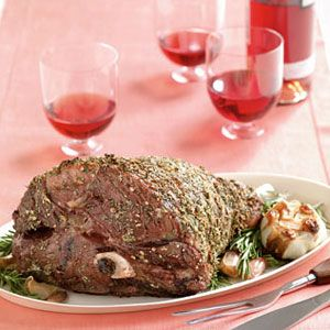 Garlic-and-Rosemary-Leg-of-Lamb-Recipe